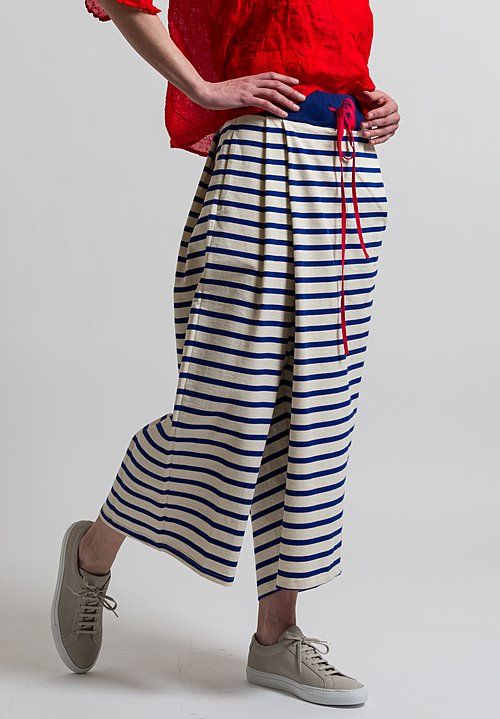 Marni Striped Pants in Mazarine