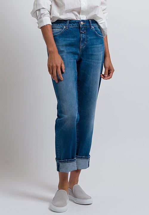Closed Relaxed Jay Jeans in Medium Blue