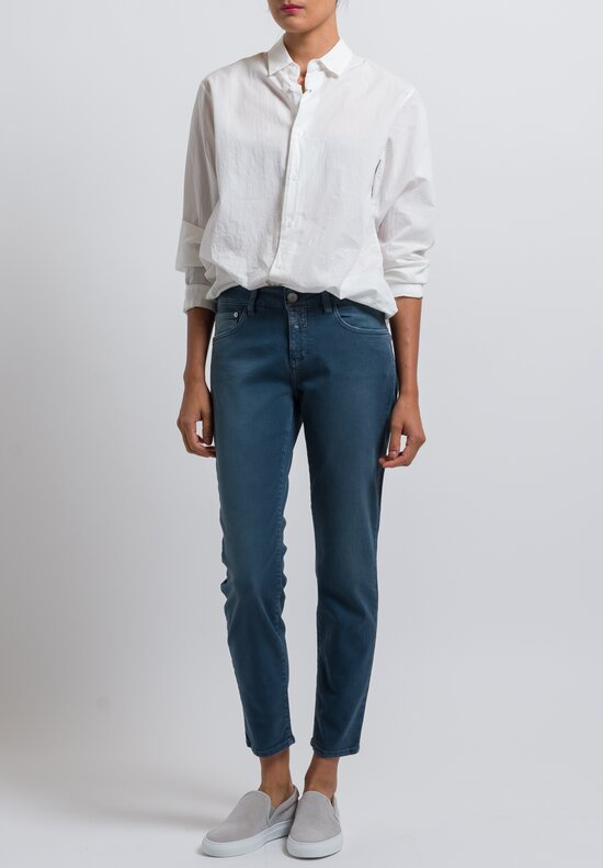 Closed Cropped Narrow Baker Jeans in Aviator Blue