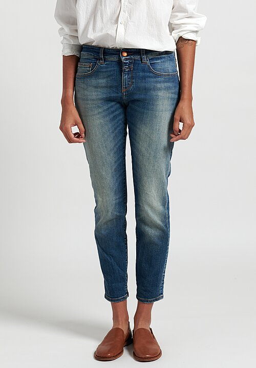 Closed Baker Narrow Cropped Jeans in Blue