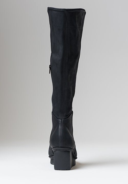 Trippen Shake Boot in Black