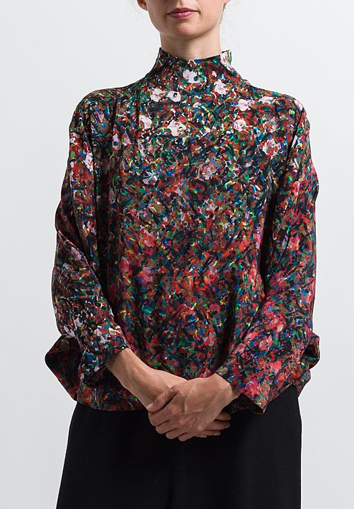 Anntian Circle Top in Print X