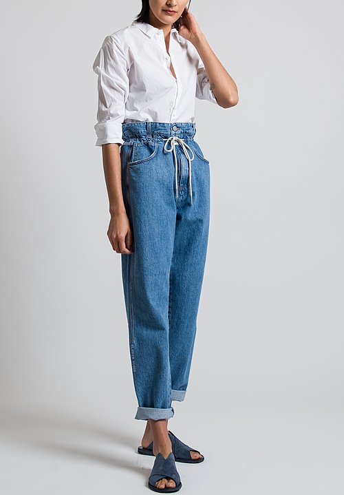 Closed Lexi High Waist Jeans in Mid Blue