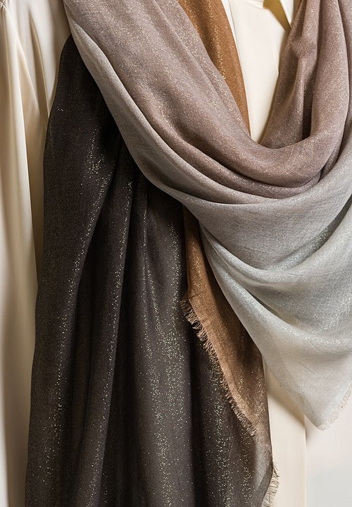 Faliero Sarti Splendor Scarf in Brown