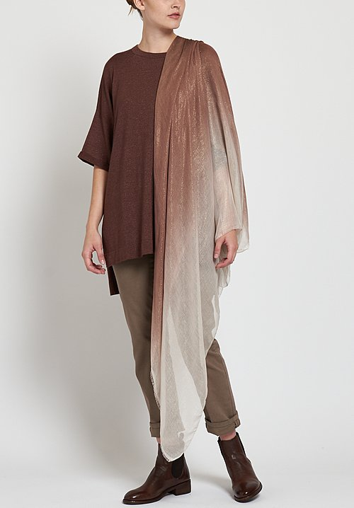 Faliero Sarti Splendor Scarf in Tan