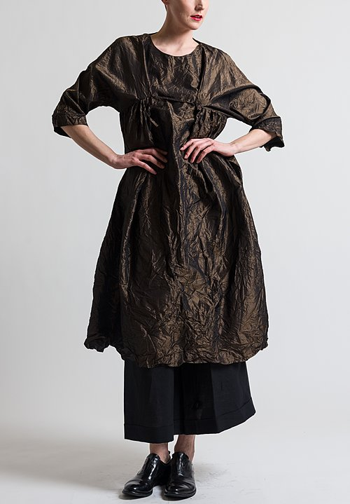 Daniela Gregis Newpride Long Dress in Bronze