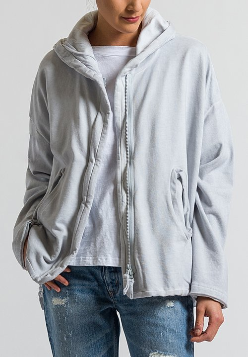 Rundholz Black Label Multi-Zipper Hooded Jacket in Grey