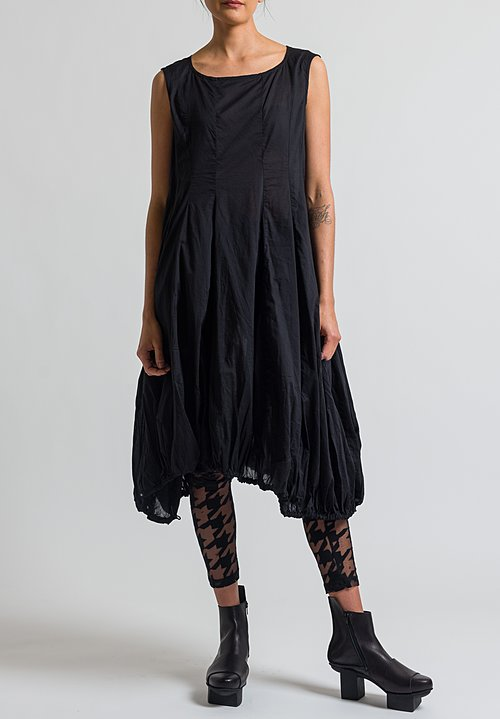 Rundholz Black Label Tulip Dress in Black