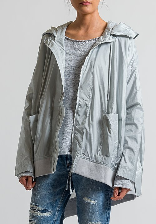 Rundholz Black Label Oversized Wind Breaker in Grey
