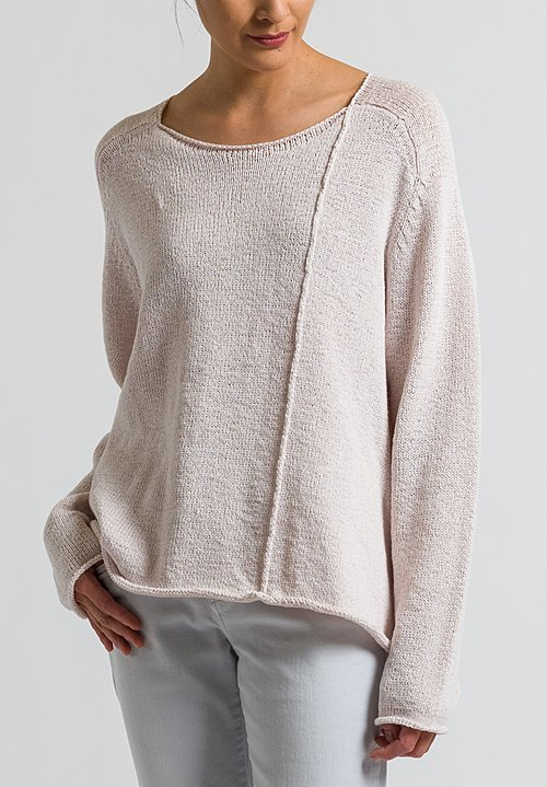 Rundholz Black Label Oversized Sweater in Rose
