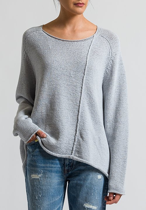 Rundholz Black Label Oversized Sweater in Grey
