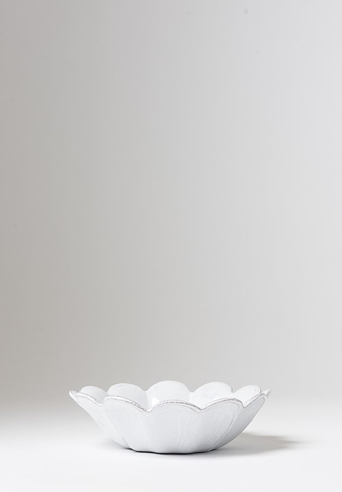 Astier de Villatte Marguerite Small Fruit Bowl White