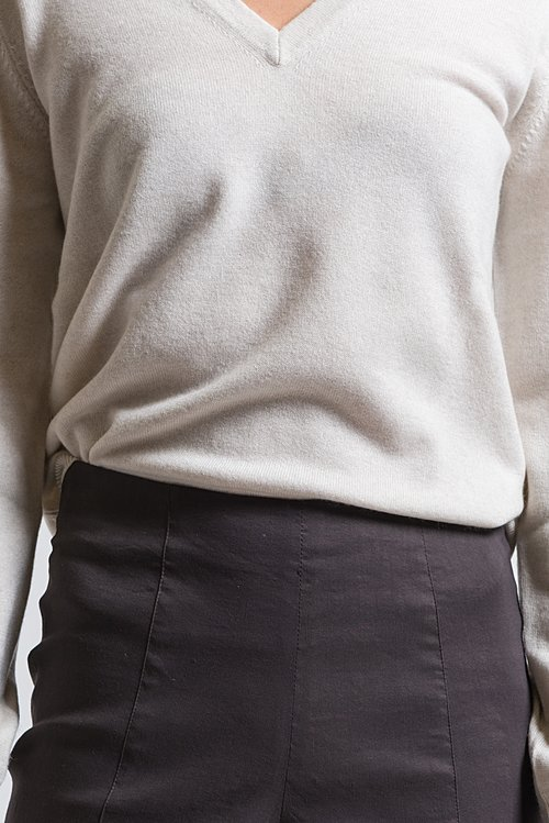 Peter O. Mahler Seam Pants in Dark Brown