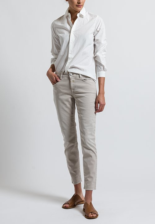Closed Baker Cropped Narrow Jeans in Sandy