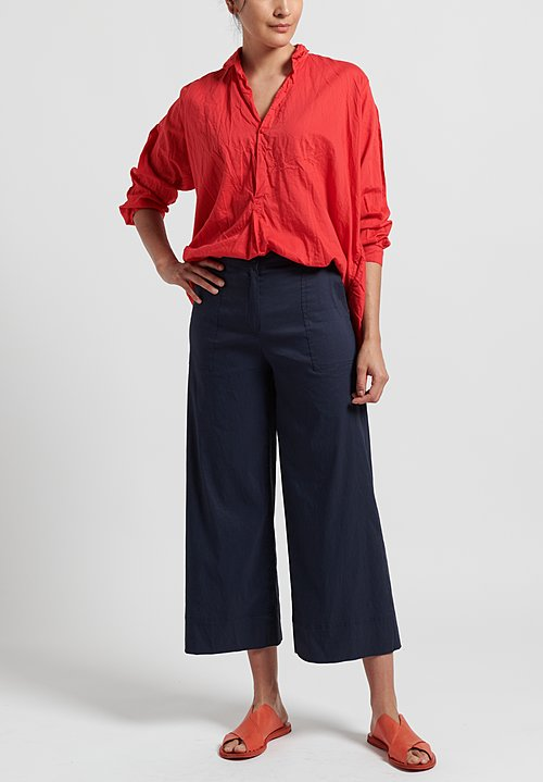 Peter O. Mahler Stitched Pocket Pants in Marine