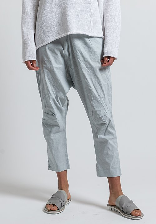 Rundholz Black Label High Rise Baggy Pants in Grey