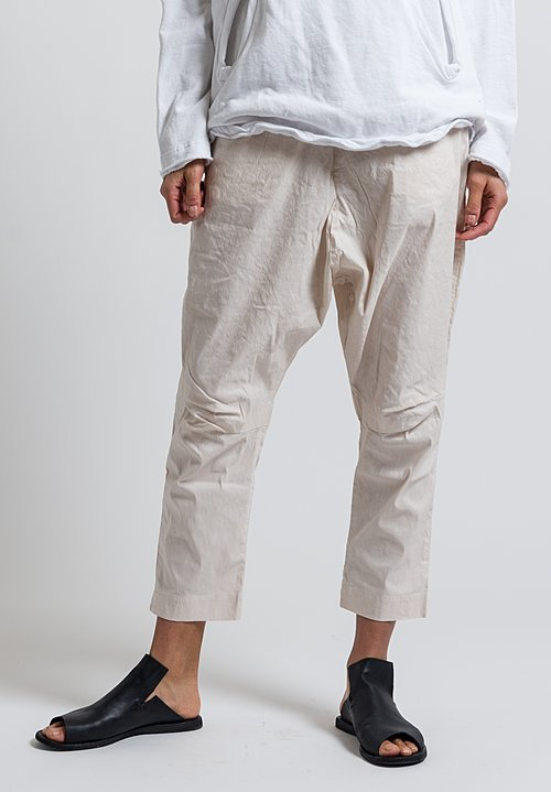 Rundholz Black Label High Rise Baggy Pants in Rose