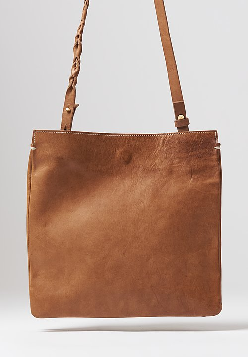 A Tentative Atelier Vacchetta Cavallo Évariste Bag in Mud