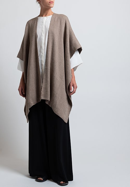 VOZ Baby Alpaca Duster in Taupe