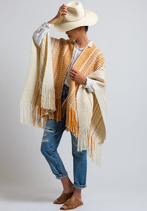 Wehve Oversized Cape in Safran