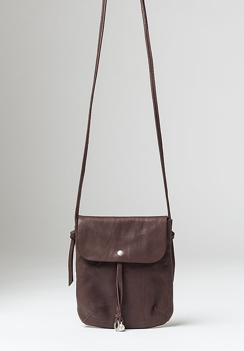 Massimo Palomba Myra Tibet Crossbody Bag in Ebano