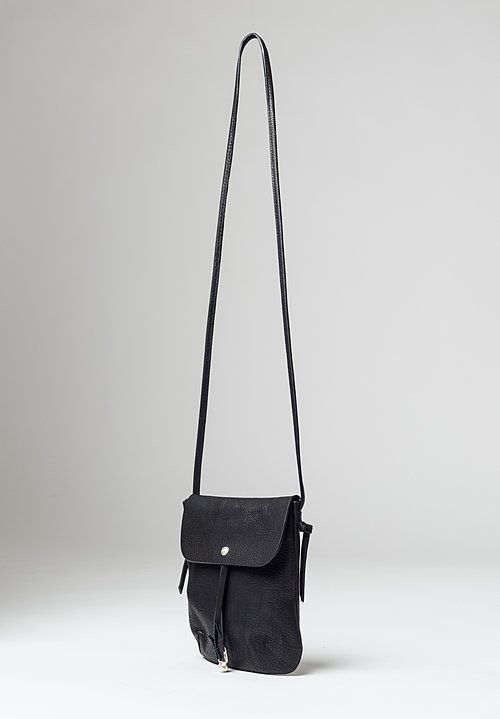 Massimo Palomba Myra Tibet Crossbody Bag in Black
