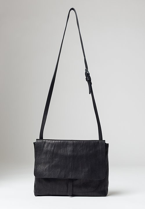 Massimo Palomba Robin Tibet Crossbody Bag in Black