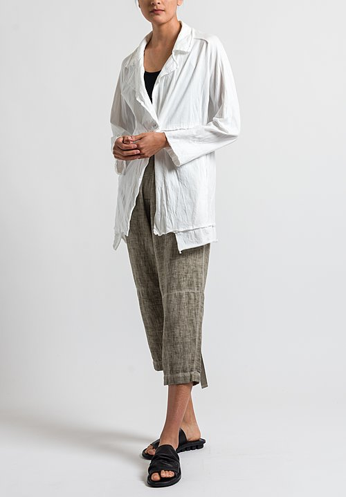 Studio B3 Deoles Jacket in Off White