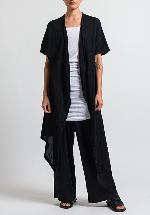 Studio B3 Risato Duster in Black