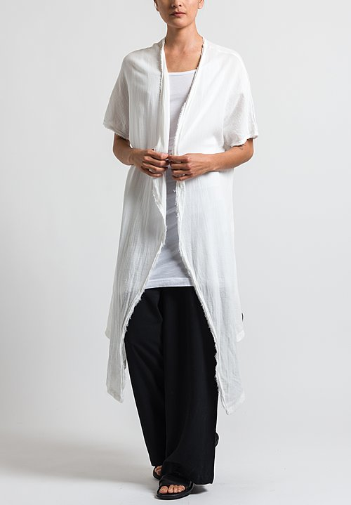 Studio B3 Risato Duster in Off White