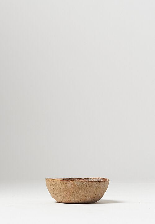 Danny Kaplan Handmade Ceramic Cereal Bowl in Pink