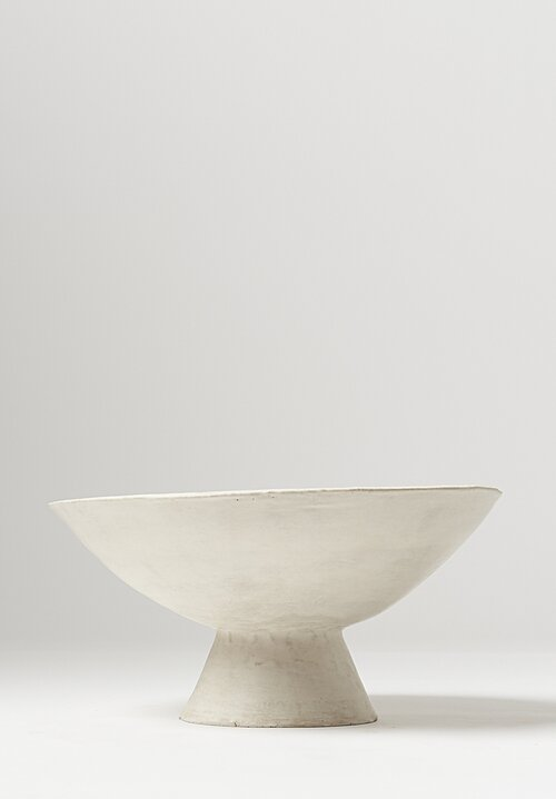 Danny Kaplan Handmade Ceramic Medium Footed Bowl