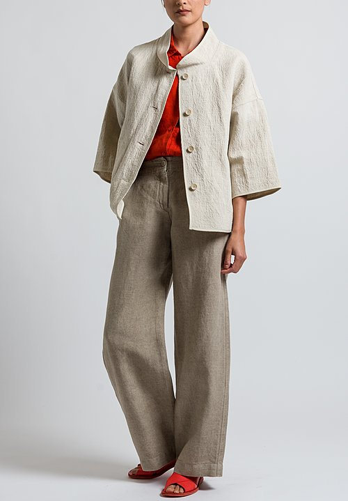 Oska Millura Jacket in Sand