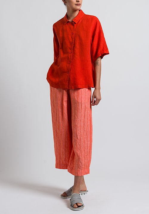 Oska Gonia Pants in Poppy