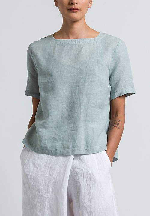 Oska Abiko Top in Limestone