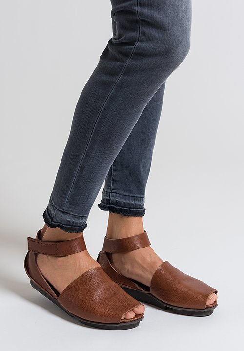 Trippen Lateen Sandal in Brown
