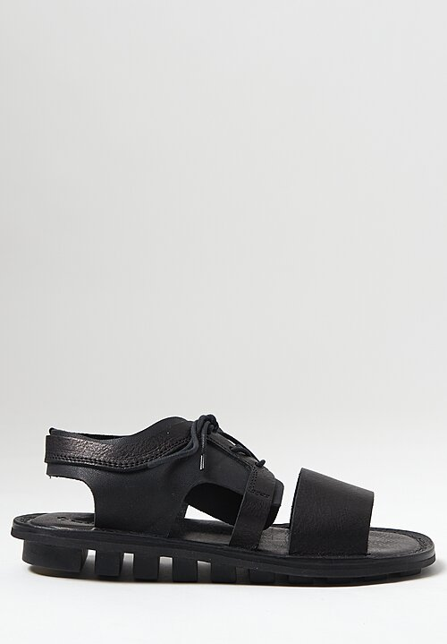 Trippen Rack Sandal in Black