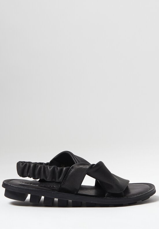 Trippen Embrace Sandal in Black