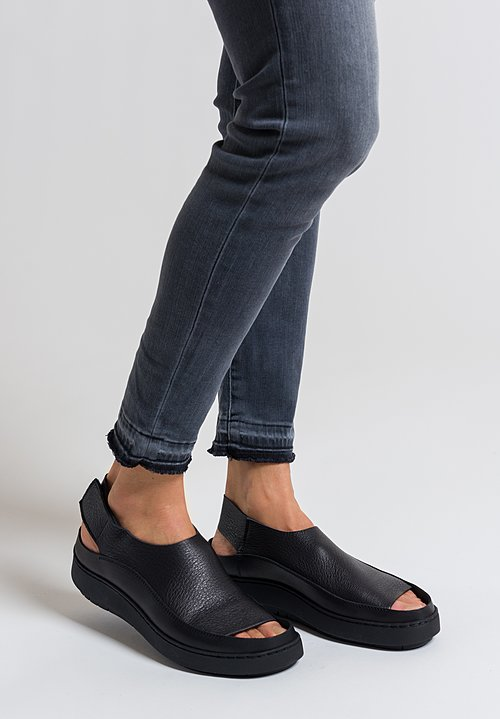 Trippen Sound Sandal in Black
