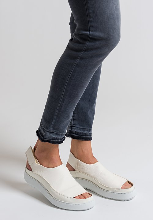 Trippen Sound Sandal in White
