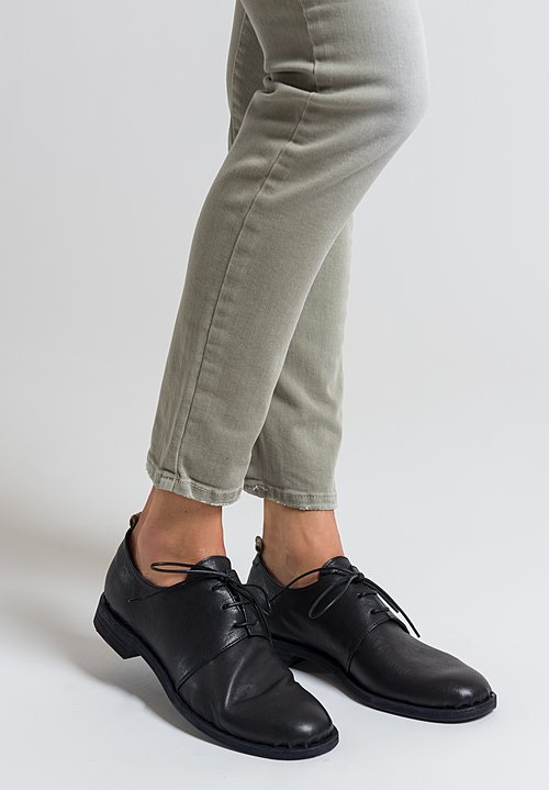 Officine Creative Graphite Rest Shoes in Nero