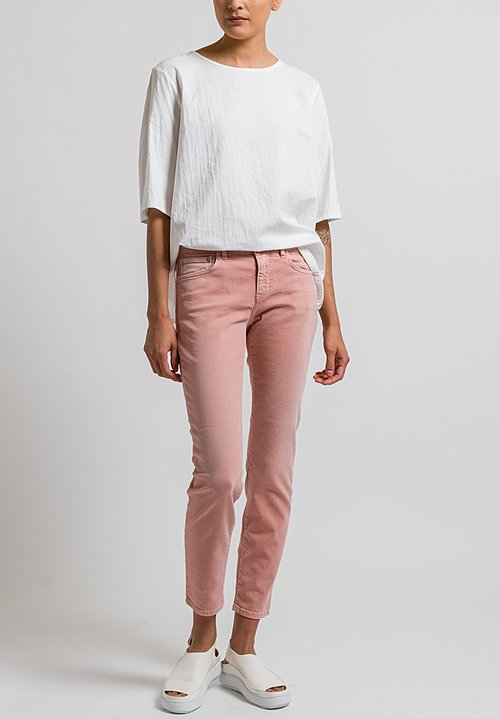 Closed Baker Cropped Narrow Jeans in Sepia Rose