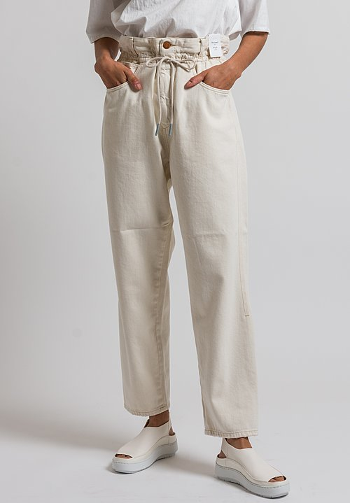 Closed High Waist Lexi Jeans in Creme