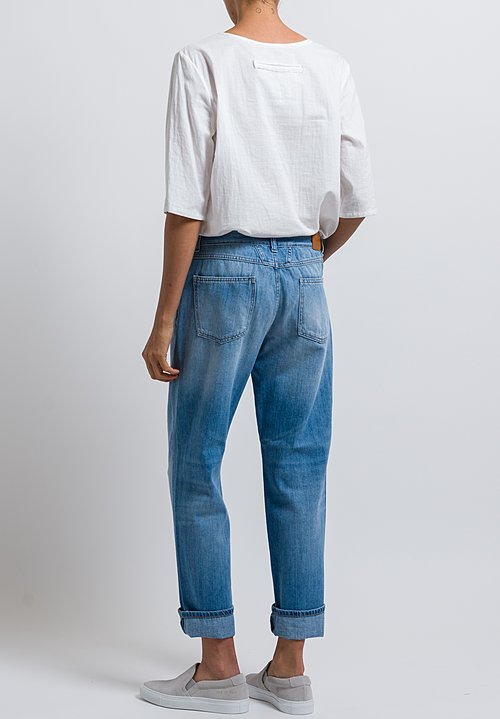 Closed Relaxed Jay Jeans in Mid Blue