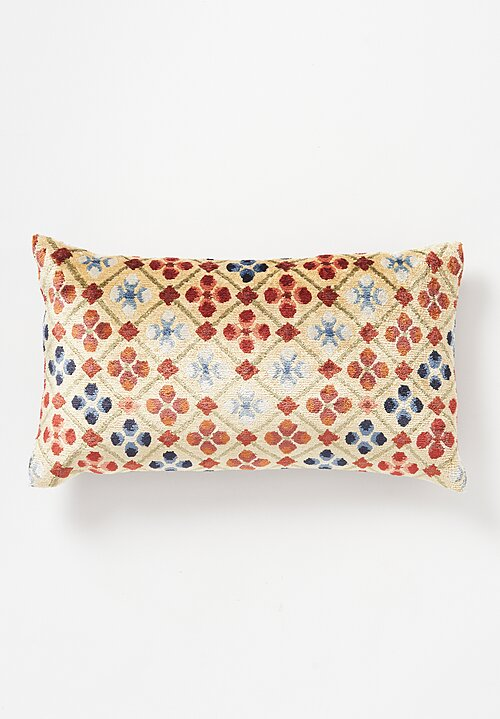Tibet Home Hand Knotted & Woven Lumbar Pillow in Linga