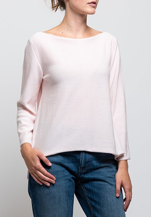 Shi Cashmere Caprice Sweater in Pink
