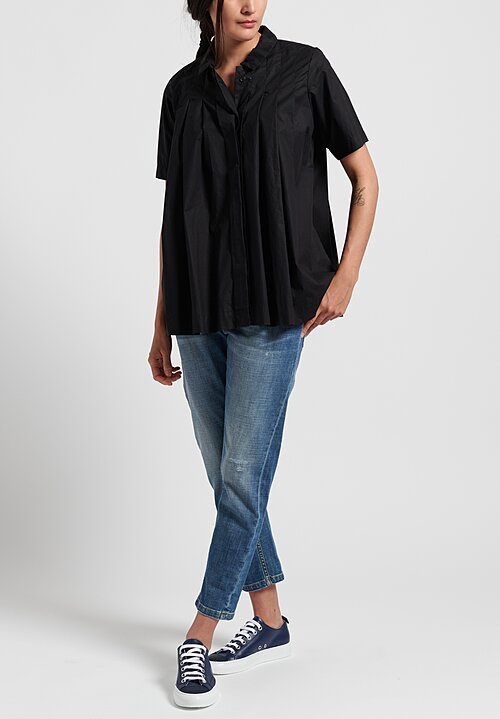 Casey Casey Laque Charlotte Shirt in Black