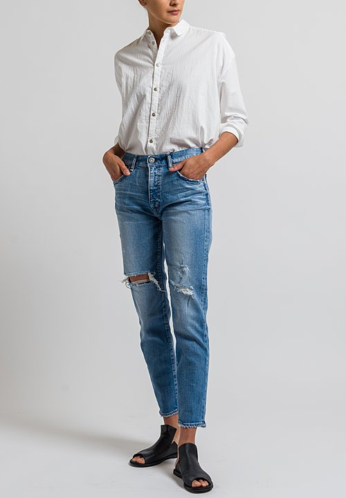 Moussy MV Cooper Skinny Jeans in Lights Blue