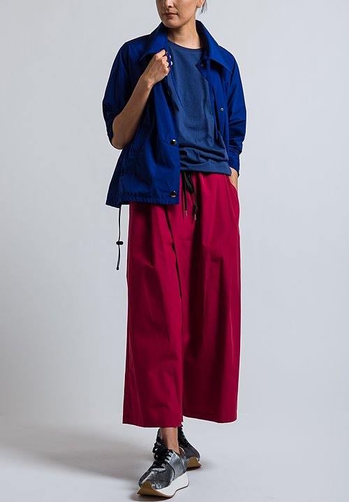 Marni Bubble Hem T-Shirt in Cornflower