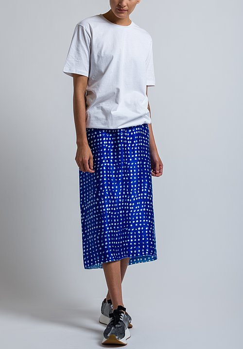 Marni Bubble Hem T-Shirt in White